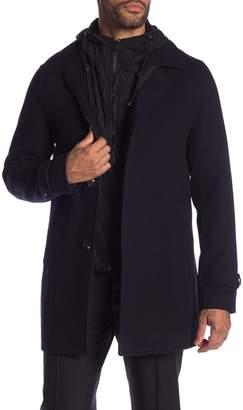 Scotch & Soda Classic Wool Blend Coat