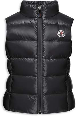 Moncler Girls' Ghany Vest - Sizes 8-14 $310 thestylecure.com