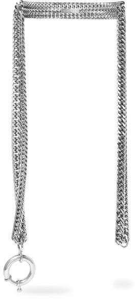 Balenciaga Balenciaga - Silver-tone Necklace - one size