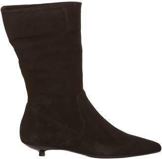 Anna Baiguera Kitten Heel Boots