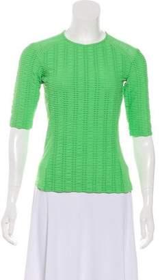 Rag & Bone Knit Short Sleeve Top