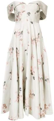Co bustier floral dress