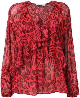 IRO leopard print blouse