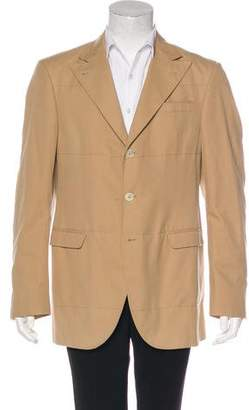 Brunello Cucinelli Woven Three-Button Sport Coat