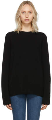 The Row Black Cashmere Sibel Sweater
