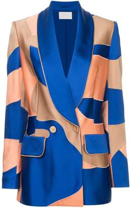 Peter Pilotto patchwork blazer