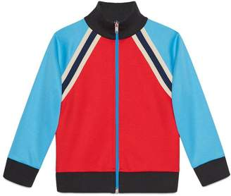 Gucci Children's technical jersey sweatshirt