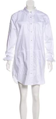 Alexander Wang Long Sleeve Mini Shirtdress w/ Tags