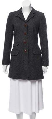 Steven Alan Herringbone Wool Coat