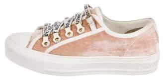 Christian Dior Walk'N'Dior Low-Top Sneakers Pink Walk'N'Dior Low-Top Sneakers