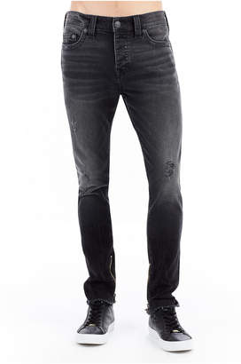 True Religion FRAYED FINN SKINNY MENS JEAN