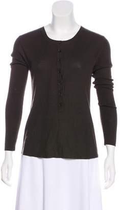 Michael Kors Rib Knit Wool Top