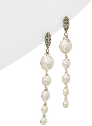 Gurhan Lentil Pave 24K & Silver 0.33 Ct. Tw. Diamond Drop Earrings