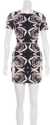 Bec & Bridge Floral Print Mini Dress