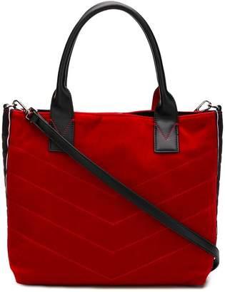Pinko stitched tote bag