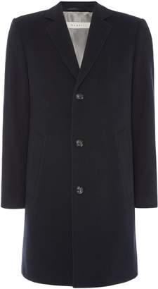 Bugatti Men's Wool Overcoat