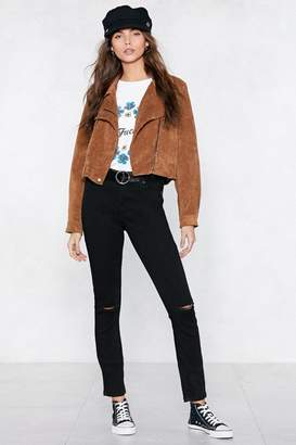 Nasty Gal Count Your Rips Skinny Jeans
