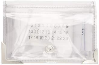 Maison Margiela (メゾン マルジェラ) - Maison Margiela SSENSE 限定 トランスペアレント PVC ミニ ウォレット