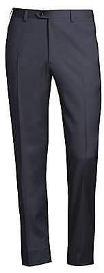 Brioni Men's Regular-Fit Classic Wool Trousers