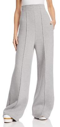 Alexander Wang French Terry High-Waist Jogger Pants