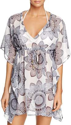 Echo Sundial Tile Tunic Swim Cover-Up - 100% Exclusive