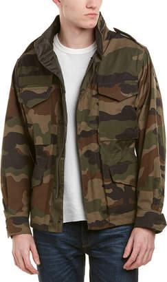 Moncler Saturne Camouflage Reversible Jacket