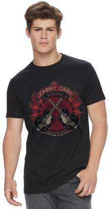Men's Johnny Cash Guitar Tee