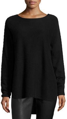 Elie Tahari Pasha Oversized Cashmere Sweater $298 thestylecure.com