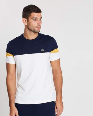 4006adf389dee Lacoste Color Block Shirt - ShopStyle Australia