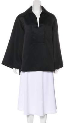 Ellery V-Neck Short Sleeve Top