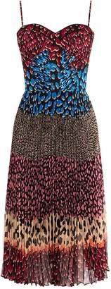 Karen Millen Leopard Print Midi Dress