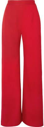 Brandon Maxwell - Crepe Wide-leg Pants - Red
