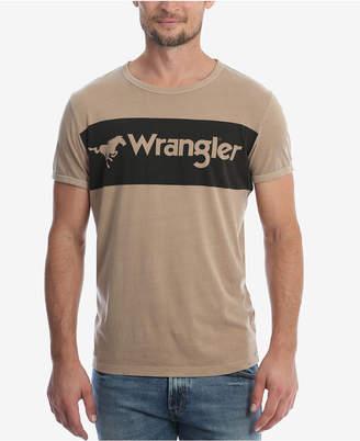 Wrangler Men's Logo Ringer T-Shirt