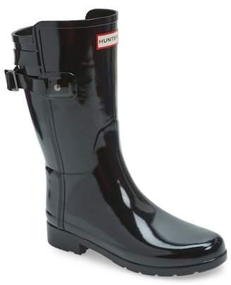 Hunter Refined Back Strap Rain Boot