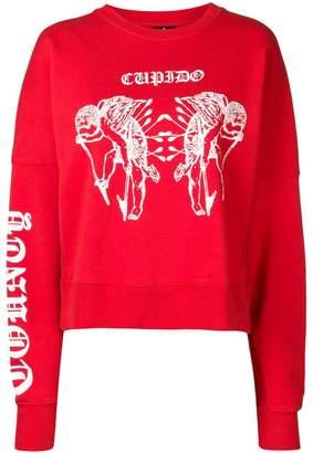 Marcelo Burlon County of Milan tattoo print sweatshirt