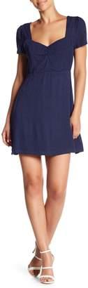 Honeybelle Honey Belle Short Sleeve Polka Dot Dress