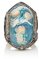 Sevan Biçakci Women's Frolicking Cherubs Intaglio Ring-Blue