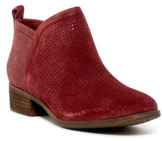 Toms Deia Perforated Suede Boot