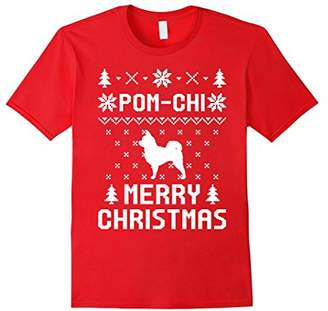Pom-Chi Ugly Christmas Sweater T-shirt For Pom-Chi Lovers
