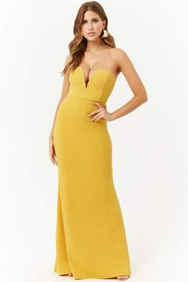 Forever 21 Plunging Mermaid Gown