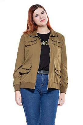 The Plus Project Ladies Utility Jacket with Belt