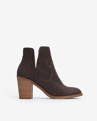 Express High Side Slit Booties