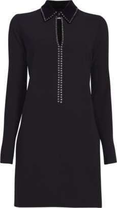 Victoria Beckham Victoria Fluid Crepe Shift Dress