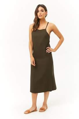 Forever 21 Woven Cami Midi Dress