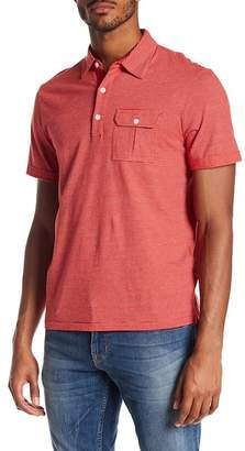 Jack Spade Striped Safari Polo