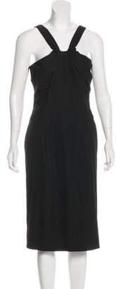 CNC Costume National Sleeveless Mini Dress Black Sleeveless Mini Dress