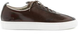 Grenson Low-top leather trainers