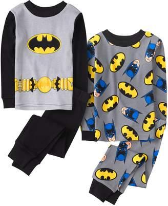 Crazy 8 Crazy8 Batman 2-Piece Pajamas 2-Pack