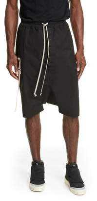Rick Owens Pantaloni Teec2 Drawstring Shorts