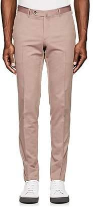 Pt01 Men's Virgin Wool-Cotton Super-Slim Trousers - Purple